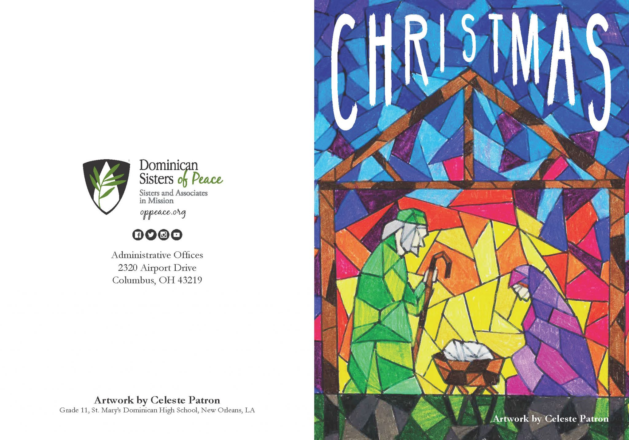 Dominican Student\'s Art Work Selected for Congregation Christmas ...